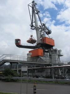 A giant crane