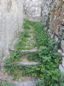 A hidden stairway