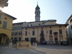 square at Gandino