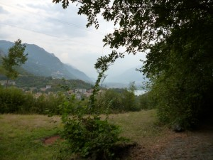 Lago d'Iseo - first glimpse