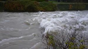 River Caffaro in spate